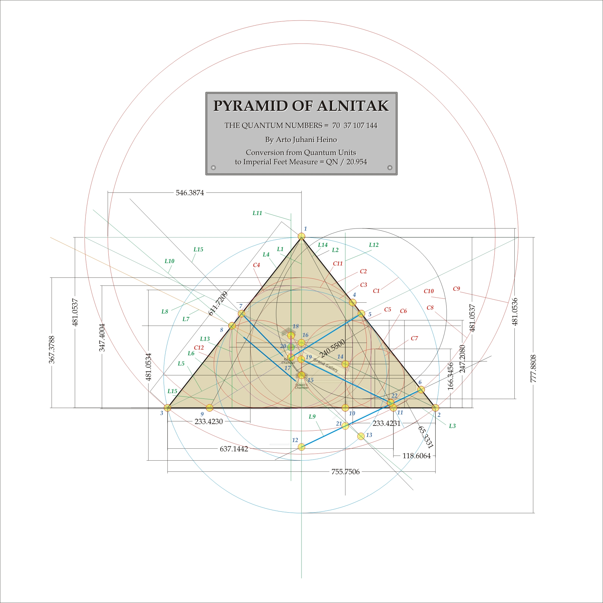how was math used in building the great pyramid essay The technological skill required to build the great pyramid still mystifies  there  is no doubt that the egyptians used mathematics on a daily basis for far more.