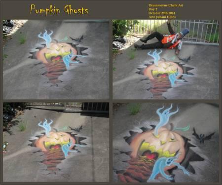 Pumpkin Ghosts