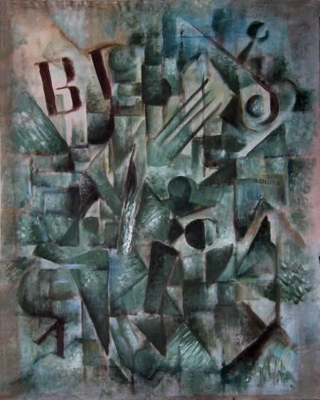 Cubist Guitar by Arto Juhani Heino, 1982.